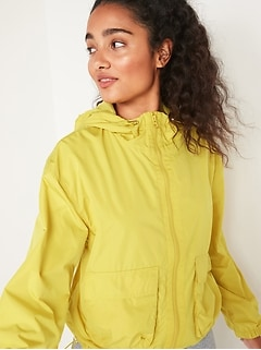 Go-H20 Water-Resistant Hooded Utility Jacket for Women