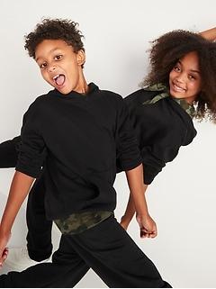Pantalon d'exercice lavés après confection unisexes pour enfants
