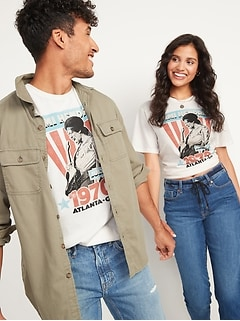 Jimi Hendrix™ Gender-Neutral Graphic Tee for Adults