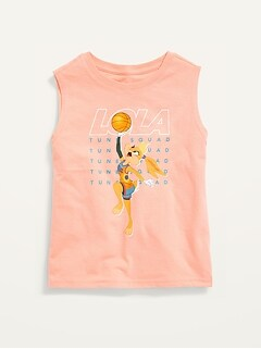 Space Jam™ Gender-Neutral Sleeveless Graphic T-Shirt for Kids