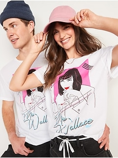 Pulp Fiction™ Mia Wallace Gender-Neutral Graphic Tee for Adults