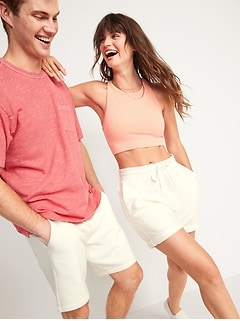 Gender-Neutral Sweat Shorts for Adults-- 7.5-inch inseam