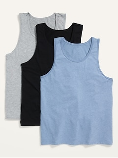 Soft-Washed Tank Top 3-Pack for Men