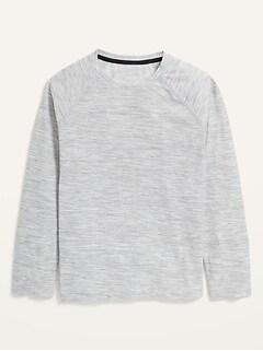 T-shirt Breathe ON ultra doux à manches longues pour garçon