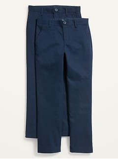 Uniform Built-In Flex Skinny Pants 2-Pack for Boys