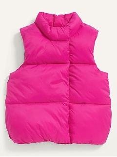 Frost-Free Vest for Toddler Girls