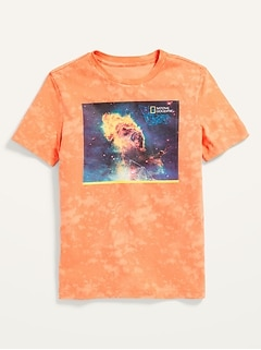 National Geographic™ Oversized Gender-Neutral T-Shirt for Kids