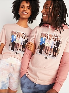 Licensed Pop-Culture Graphic Gender-Neutral Tee for Adults