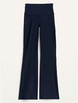 Pantalon de compression semi-évasé étroit Powersoft taille haute pour Femme