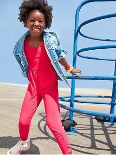 UltraLite Sleeveless Jumpsuit for Girls