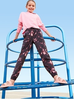 StretchTech Cargo Jogger Performance Pants for Girls