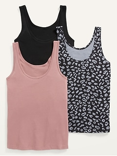 First-Layer Tank Top 3-Pack for Women