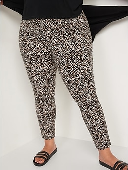 Pantalon Pixie à la cheville à taille haute à imprimé pour Femme