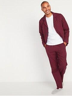 Poplin Pajama Set for Men