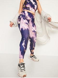 Leggings mi-long PowerSoft à taille haute avec poches latérales pour femme