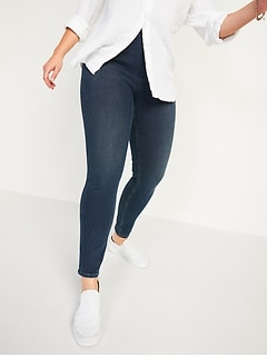 Extra High-Waisted Rockstar 360° Stretch  Super Skinny Jeggings for Women