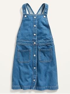 Medium-Wash Jean Skirtall for Girls