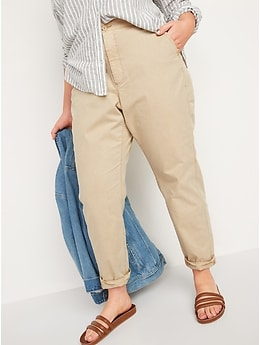 High-Waisted O.G. Straight Chino Pants for Women