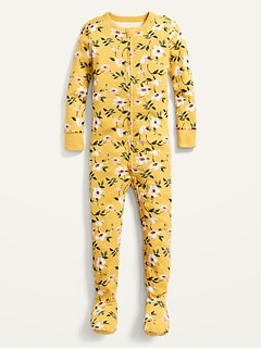 Printed Snug-Fit Footie Pajama One-Piece for Toddler & Baby