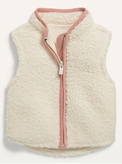 Sherpa Vest for Baby
