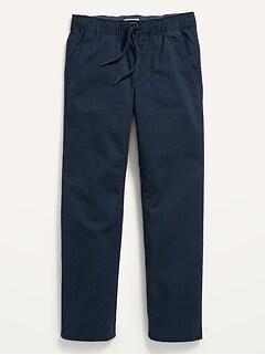 Pantalon droit indéchirable à Extensibilité intégrée à enfiler pour Garçon