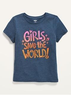 Short-Sleeve Graphic T-Shirt for Girls