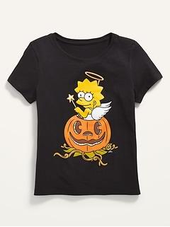 Halloween Matching Pop-Culture Graphic T-Shirt for Girls