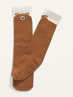 Unisex Knee-High Socks for Baby