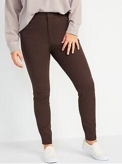 High-Waisted Pixie Full-Length Pants for Women