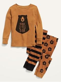 Unisex 3-Piece Pajama Set for Toddler & Baby