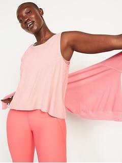 UltraLite Cross-Back Sleeveless Top for Women