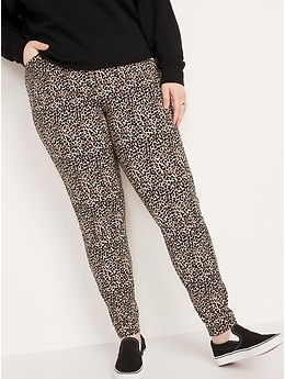 High-Waisted Pixie Printed Full-Length Pants for Women