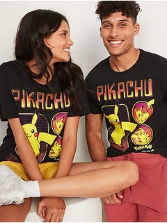Pokémon™ Pikachu Gender-Neutral Graphic Tee for Adults