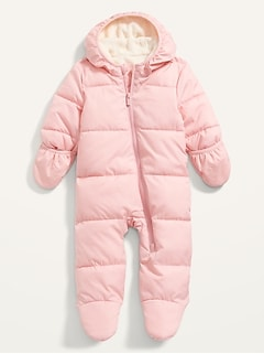 Unisex Frost-Free Hooded Snowsuit for Baby