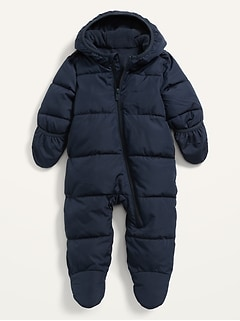 Unisex Hooded Frost-Free Snowsuit for Baby