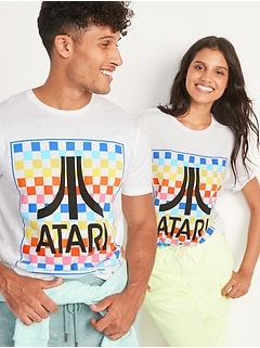 Atari® Gender-Neutral Graphic Tee for Adults