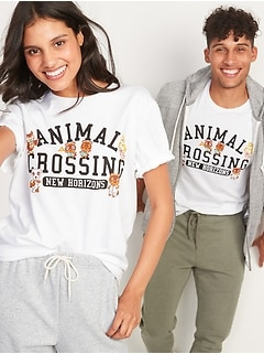Animal Crossings: New Horizons™ Gender-Neutral Graphic Tee for Adults