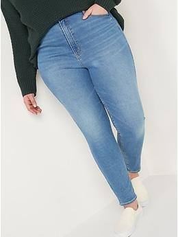 Higher High-Waisted Rockstar 360° Stretch Super Skinny Jeans for Women
