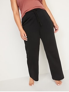 Extra High-Waisted French Terry Sweatpants for Women