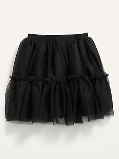 Tiered Tulle Tutu Skirt for Toddler Girls