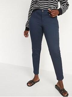 Mid-Rise Skinny Everyday Khakis for Women