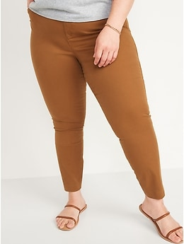 Mid-Rise Pixie Chino Ankle Pants for Women