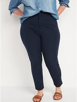 Pantalon Pixie à la cheville à taille haute pour femme