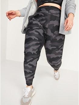 Pantalon d'entraînement mi-long Elevate Powersoft à taille haute pour femme