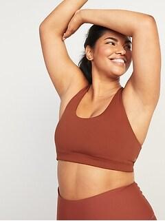Soutien-gorge de sport Powersoft à dos croisé, maintien intermédiaire pour femme