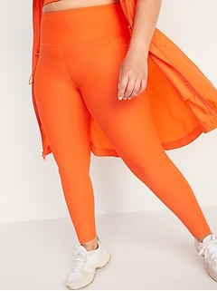 High-Waisted PowerSoft Side-Pocket Leggings for Women