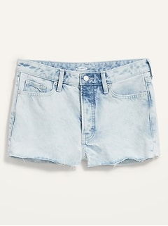 High-Waisted O.G. Button-Fly Cut-Off Jean Shorts for Women -- 1.5-inch inseam