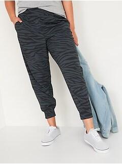 Pantalon effilé extensible à taille haute pour Femme