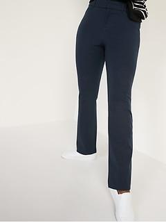 High-Waisted Pixie Full-Length Flare Pants for Women