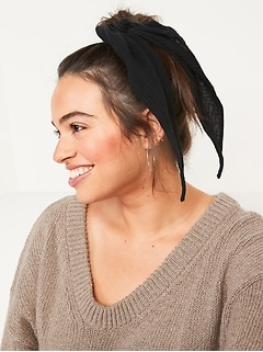 Scarf Hair-Tie For Women